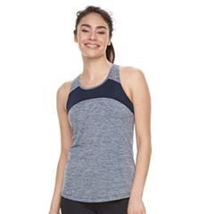 Women's FILA SPORT® Melange Twist Back Tank