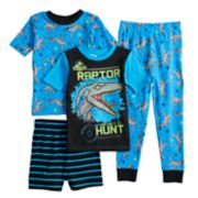 Boys 4-12 Jurassic World 4-Piece Pajama Set