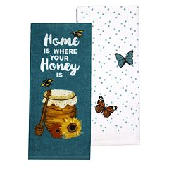 Celebrate Fall Together Home Honey Kitchen Towel 2-pack