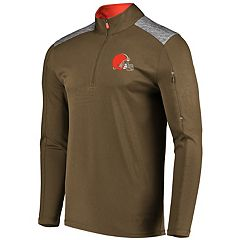 Men's Majestic Cleveland Browns Ultra Streak Pullover