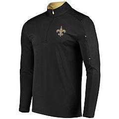 Men's Majestic New Orleans Saints Ultra Streak Pullover