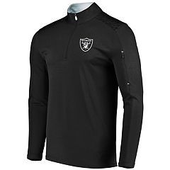 Men's Majestic Oakland Raiders Ultra Streak Pullover