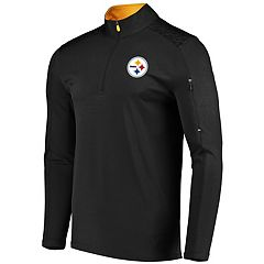 Men's Majestic Pittsburgh Steelers Ultra Streak Pullover