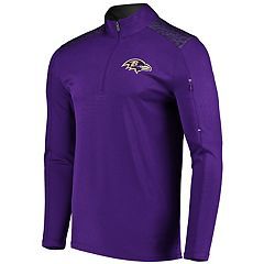 Men's Majestic Baltimore Ravens Ultra Streak Pullover