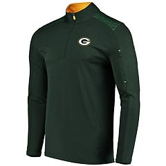Men's Majestic Green Bay Packers Ultra Streak Pullover