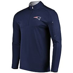 Men's Majestic New England Patriots Ultra Streak Pullover