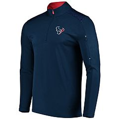 Men's Majestic Houston Texans Ultra Streak Pullover