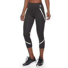 Women's FILA SPORT® Reflective High-Waisted Capri Leggings