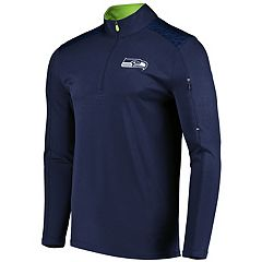 Men's Majestic Seattle Seahawks Ultra Streak Pullover