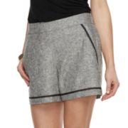 Women's Apt. 9® Linen Midrise Blend Shorts