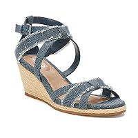 Chaps Sadria Women's Wedge Sandals