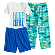 Boys 4-8 Carter's Whale 3 pc Pajama Set