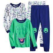 Boys 4-12 Carter's Dinosaur 4 pc Pajama Set