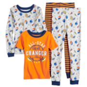 Boys 4-12 Carter's All-Star 4-Piece Pajama Set