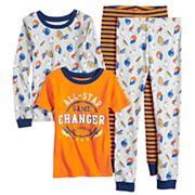 Boys 4-12 Carter's All-Star 4 pc Pajama Set