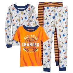 Boys 4-12 Carter's All-Star 4-Piece Pajama Set