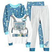 Boys 4-12 Carter's Astronaut 4 pc Pajama Set