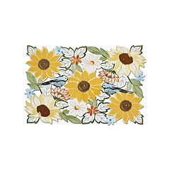 Celebrate Fall Together Cutout Sunflower Placemat