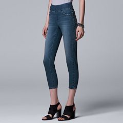 Women's Simply Vera Vera Wang Pull-On Capri Jeggings