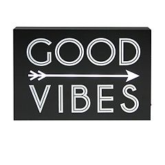 Simple by Design 'Good Vibes' LED Sign Wall Decor