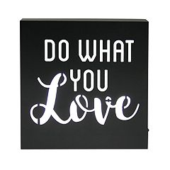 Simple by Design 'Love' LED Sign Wall Decor