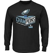 Men's Philadelphia Eagles 2017 NFC Champions Destiny Drive Tee