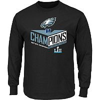 Men's Philadelphia Eagles 2017 NFC Champions Destiny Drive Tee