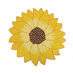 Celebrate Fall Together Beaded Sunflower Placemat