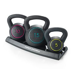 ProForm 3-Piece Kettlebell Kit