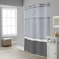 Hookless Windsor Colorblock Shower Curtain & Liner