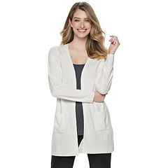 Petite Napa Valley Raglan Sleeve Duster Cardigan