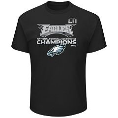 Men's Philadelphia Eagles 2017 NFC Champions Conference Flow Tee