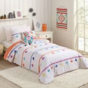 Urban Playground Painted Tassel Comforter Set