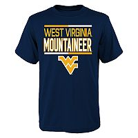 Boys 4-18 West Virginia Mountaineers Density Tee