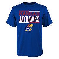 Boys 4-18 Kansas Jayhawks Density Tee