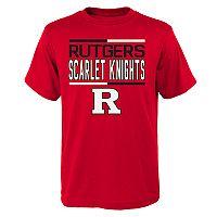 Boys 4-18 Rutgers Scarlet Knights Density Tee