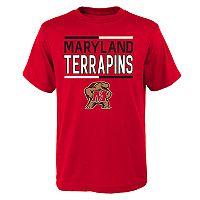 Boys 4-18 Maryland Terrapins Density Tee