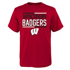 Boys 4-18 Wisconsin Badgers Density Tee