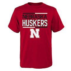Boys 4-18 Nebraska Cornhuskers Density Tee