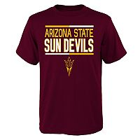 Boys 4-18 Arizona State Sun Devils Density Tee