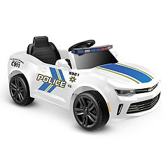 Kid Motorz One Seater 6V Police Camaro Ride-On Vehicle