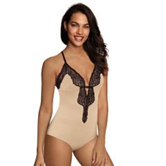 Women's Maidenform Casual Comfort Lounge Thong Bodysuit DMCCTB