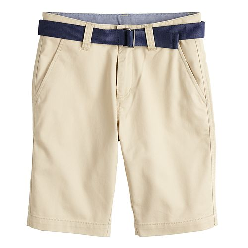 Boys 4-20 Chaps Belted Dean Shorts