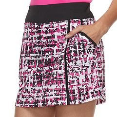 Women's Grand Slam Floral Grid Print Golf Skort