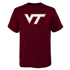 Boys 4-18 Virginia Tech Hokies Primary Logo Tee