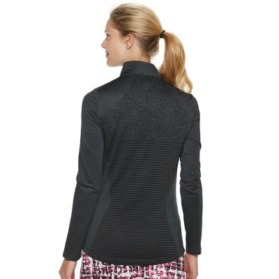 Women's Grand Slam Long Sleeve Waffle-Knit Golf Top