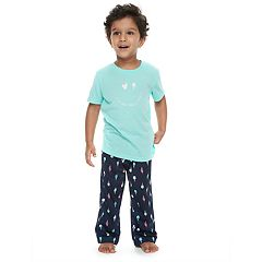 Toddler Boy Jammies For Your Families 'Luv Ya More Than Ice Cream' Tee & Bottoms Pajama Set