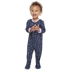 Baby Jammies For Your Families Arrows & Hearts Footed Pajamas