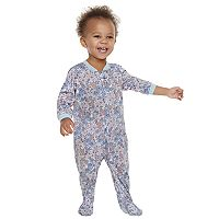 Baby Girl Jammies For Your Families Floral Footed Pajamas