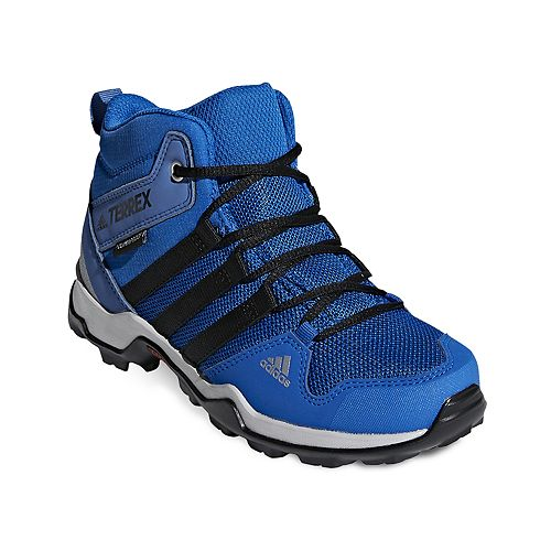 e89141cceb31c adidas Outdoor Terrex AX2R Mid CP Kids' Waterproof Hiking Boots